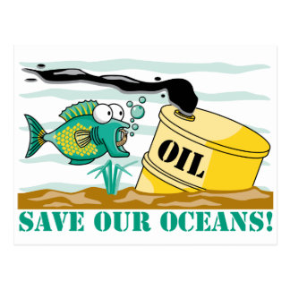Save Our Oceans! Postcard