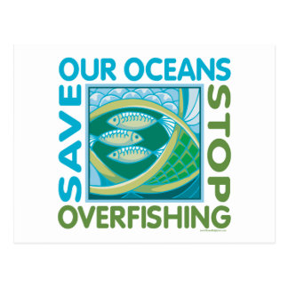 Save Our Oceans Postcard