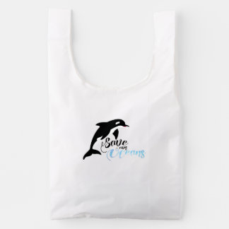 Save our Oceans Reusable Bag