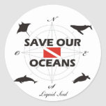 Save Our Oceans - Sticker Adesivo