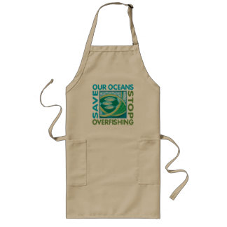Save Our Oceans - Stop Overfishing Long Apron