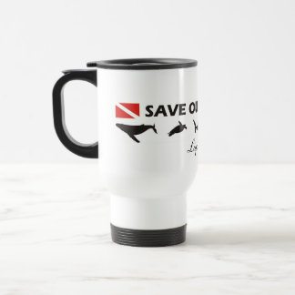 Save Our Oceans - Travel Mug