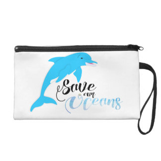 Save our Oceans Wristlet