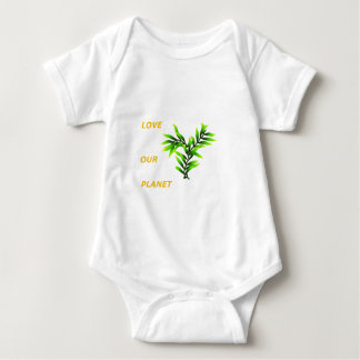 Save our Planet Baby Bodysuit