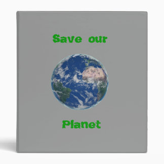 Save Our Planet Binder