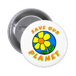 Save Our Planet Buttons