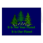 Save Our Planet Card