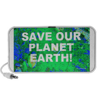 SAVE OUR PLANET EARTH! TRAVELLING SPEAKERS