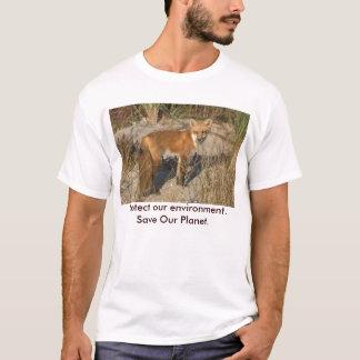 Save Our Planet Fox Tshirt