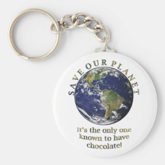 Save Our Planet Keychain