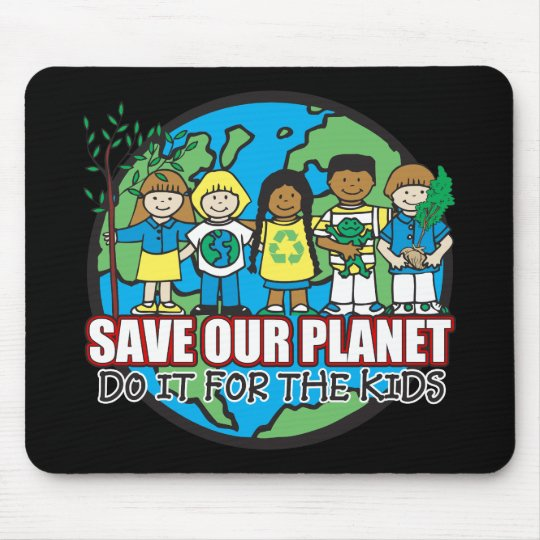 Save Our Planet Mouse Pad