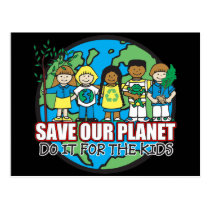 Save Our Planet Postcard