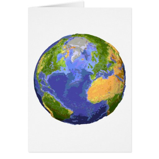Save Our Planet Products & Designs! Greeting Card