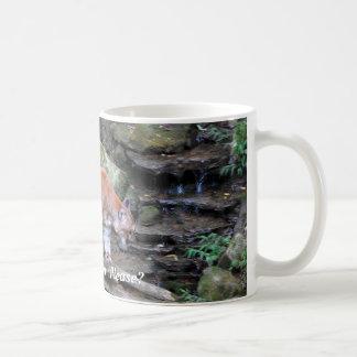 Save Our Planet series Cougar coffee mug
