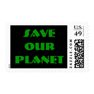 Save Our Planet Stamps By Wastelandmusic.com
