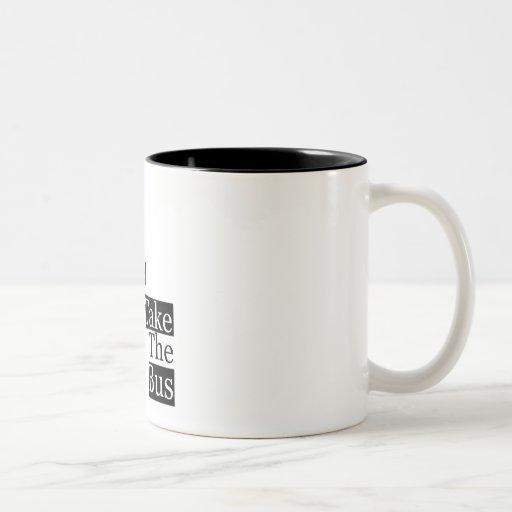 Save our Planet, take a bus Mugs