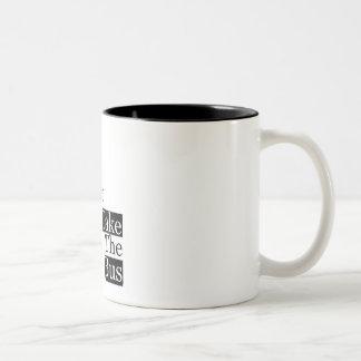 Save our Planet, take a bus Two-Tone Coffee Mug