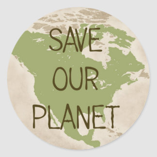 Save Our Planet -- USA stickers