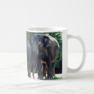 Save Our Planet wildlife series elephants mug
