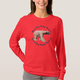 Save Our Polar Bears Wildlife Supporter Shirt