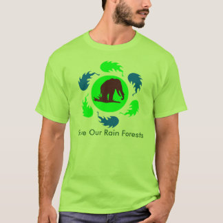 Save Our Rain Forests Elephants T-Shirt