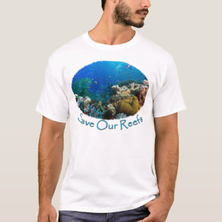 Save Our Reefs Great Barrier Reef Coral Sea T-Shirt