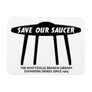 Save Our Saucer Magnet