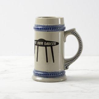 Save Our Saucer Stein Coffee Mug
