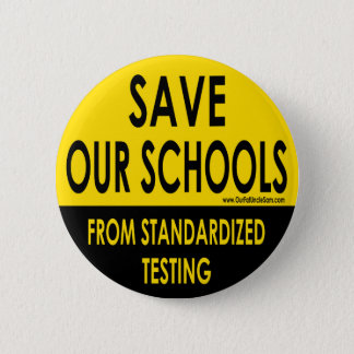 Save Our Schools Button