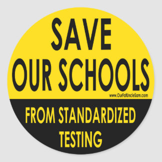 Save Our Schools Classic Round Sticker