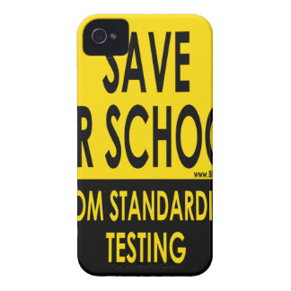 Save Our Schools iPhone 4 Case-Mate Cases