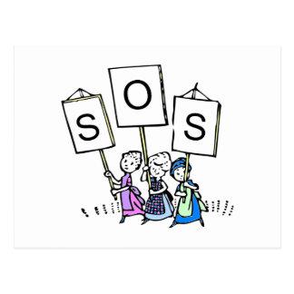 Save Our Schools Postcard