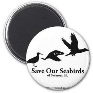 Save Our Sea Birds of Sarasota Florida Magnet