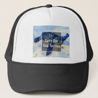 Save Our Sea Turtles Trucker Hat