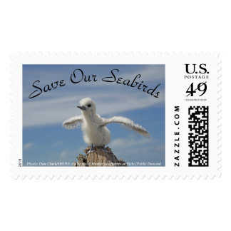 Save Our Seabirds Stamp by RoseWrites