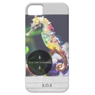 Save Our Seahorses iPhone case