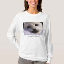 """SAVE OUR SEALS"" Harp Seal Protection Shirt"