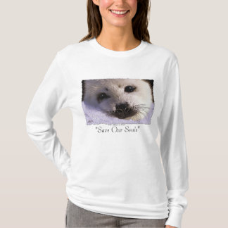 """""""SAVE OUR SEALS"""" Harp Seal Protection Shirt"""