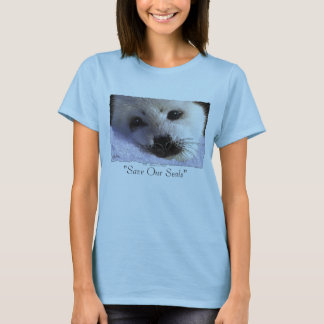 """""""SAVE OUR SEALS"""" Tops & Tees"""