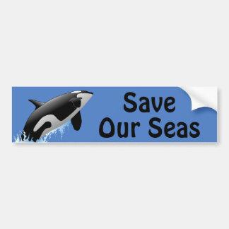 Save Our Seas Bumper Sticker
