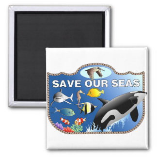 Save Our Seas Magnet