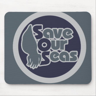 Save our Seas Mouse Pad