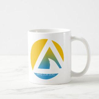 save our seas tricircles coffee mug