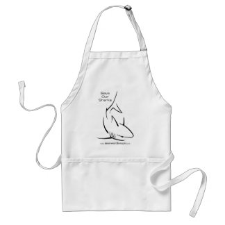 Save Our Sharks Adult Apron