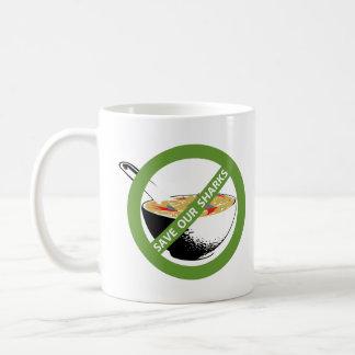 SAVE OUR SHARKS ban shark fin soup Coffee Mug
