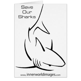 Save Our Sharks Cards