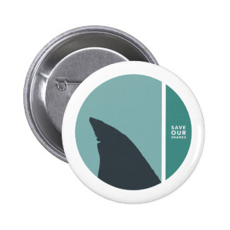 save our sharks circles button