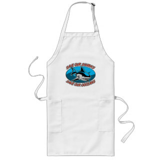 Save Our Sharks Long Apron