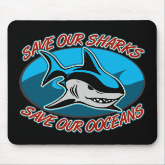 Save Our Sharks Mouse Pad