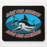 Save Our Sharks Mousepad
